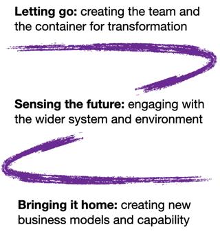Organisational transformation approach