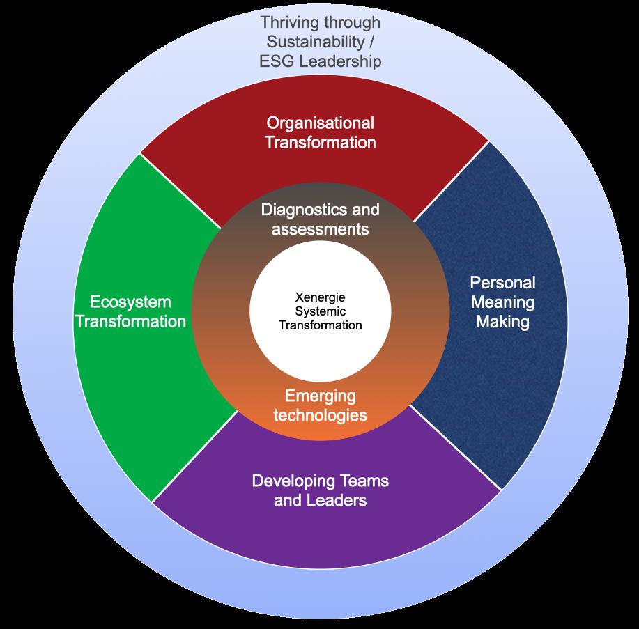 Xenergie services diagram